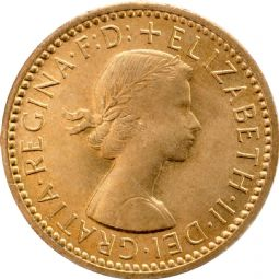 Elizabeth II Farthing for sale